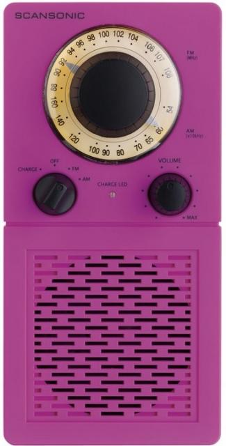Scansonic Radio P 2500 pink
