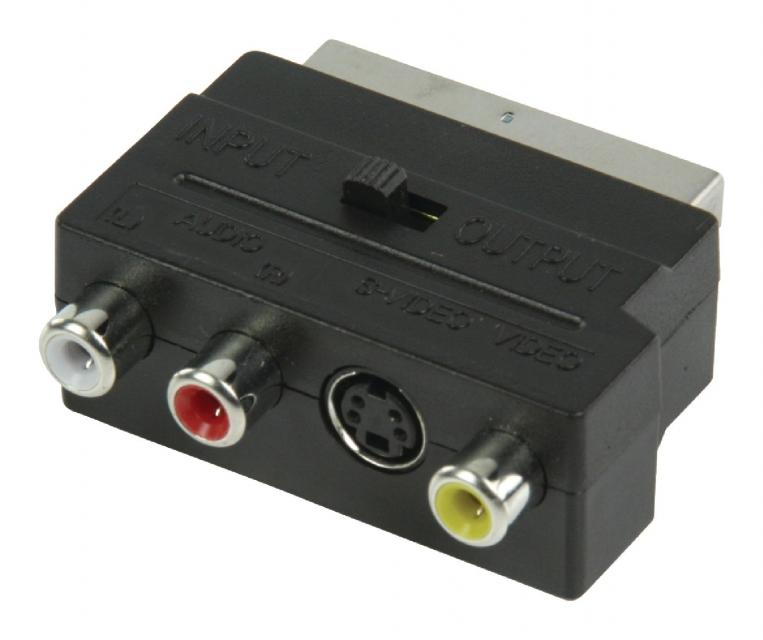 Scartadapter mit Schalter
