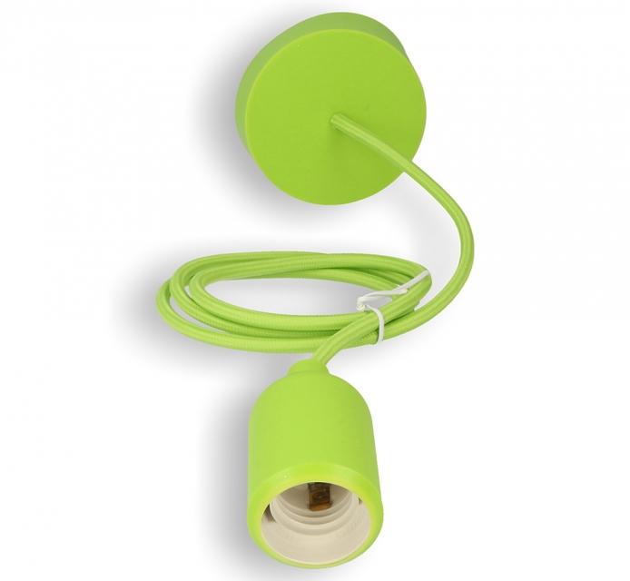 Silikon-Lampenfassung grün