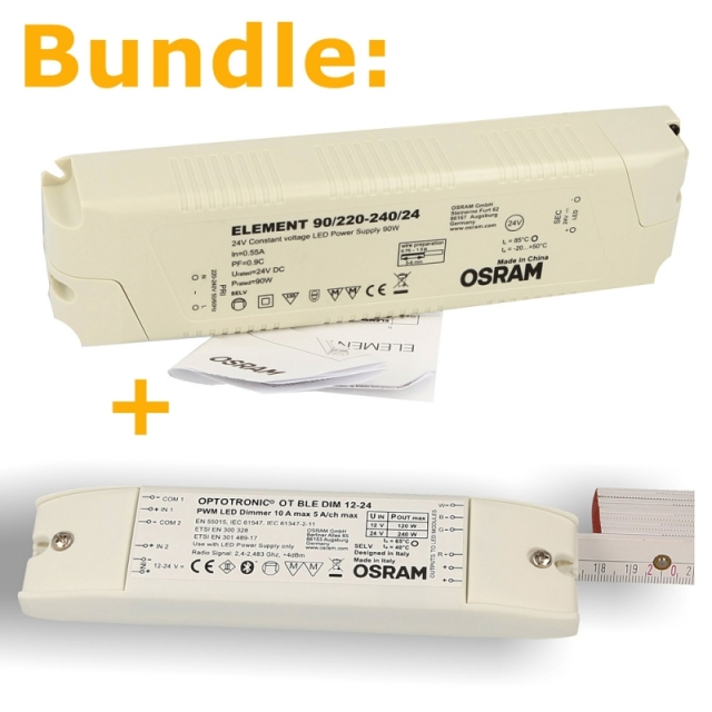 BUNDLE: OSRAM ELEMENT 90W-24V + OT BLE DIM